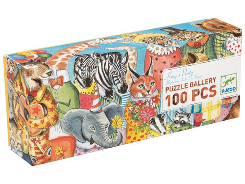 Gallery Puzzle 100 pcs King's Party