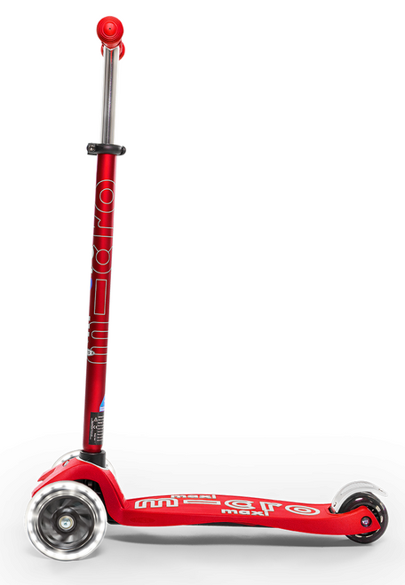 Maxi Deluxe LED Ages 5-12 Red
