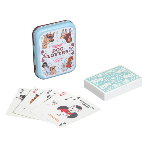 Dog Lover's Playing Cards