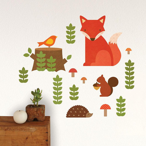 Woodland Wall Decal