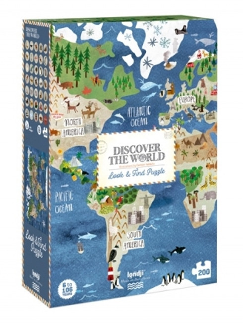 Discover Puzzle 200pcs World Observation
