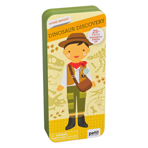 Shine Bright Magnetic Dress up Dinosaur Discovery