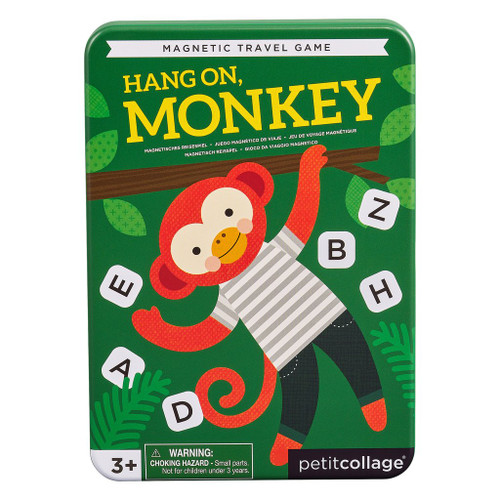 Magnetic Travel Game Hang On Monkey
