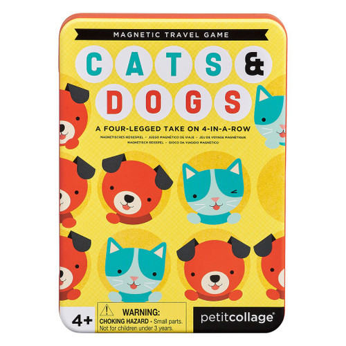 Magnetic Travel Game Cats & Dogs
