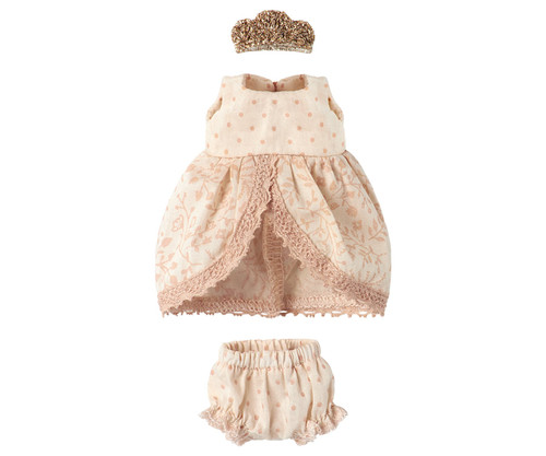 Clothes Princess Dress, Micro & Mouse - Rose
