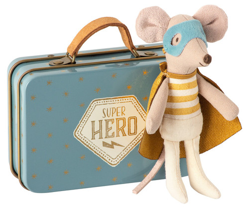 Superhero Mouse in a Suitcase, Little Brother