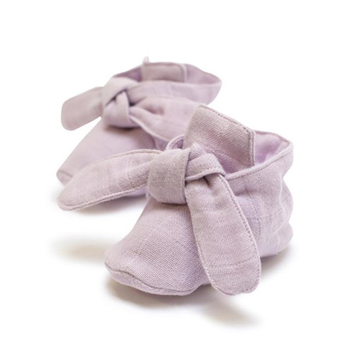 Knotted Bootie Pink Lilac