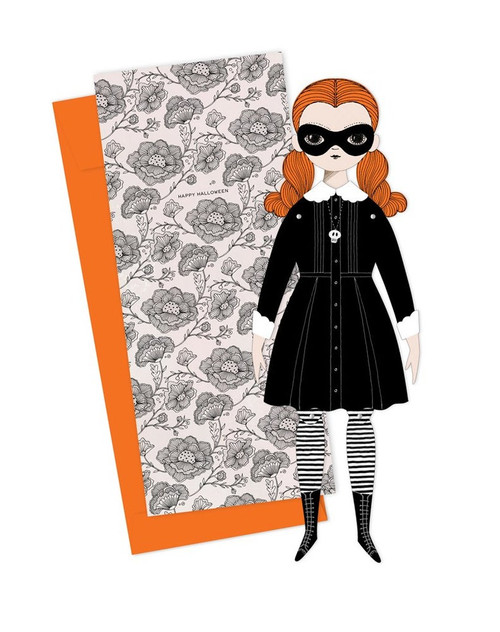 Mailable Paper Doll Card Wednesday