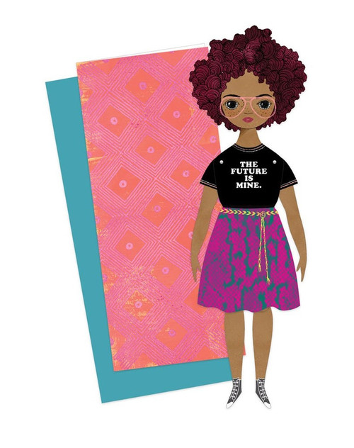 Mailable Paper Doll Card Willow