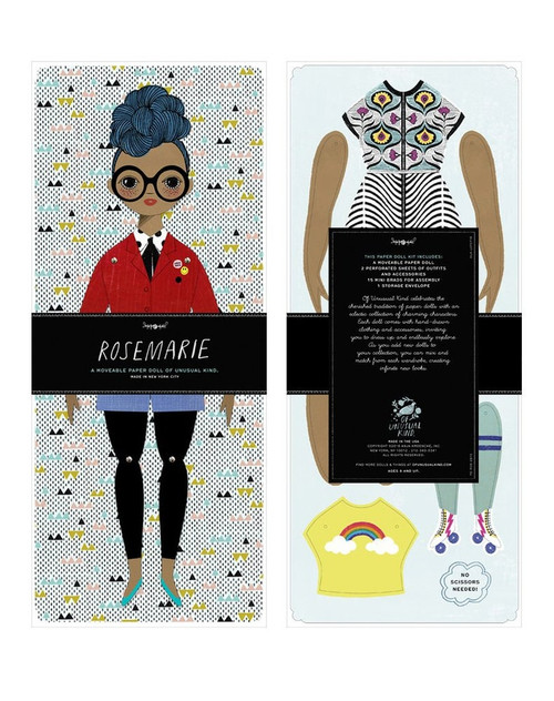 Mailable Paper Doll Kit Rosemarie