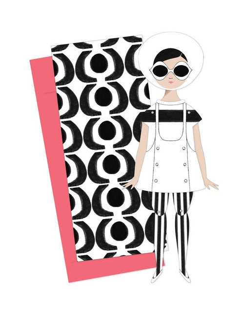 Mailable Paper Doll Card Mary