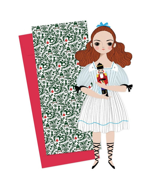 Mailable Paper Doll Card Clara