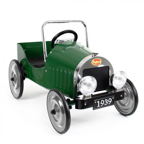Ride-On Classic Pedal Car Green
