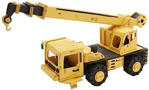 Cars Craft Paper Model Crane Truck