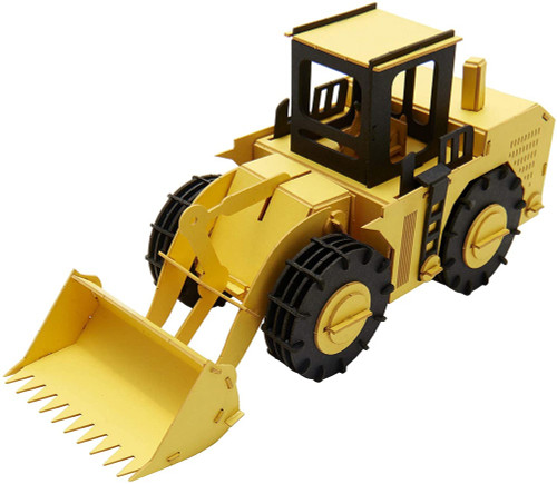 Cars Craft Paper Model Wheel Loader