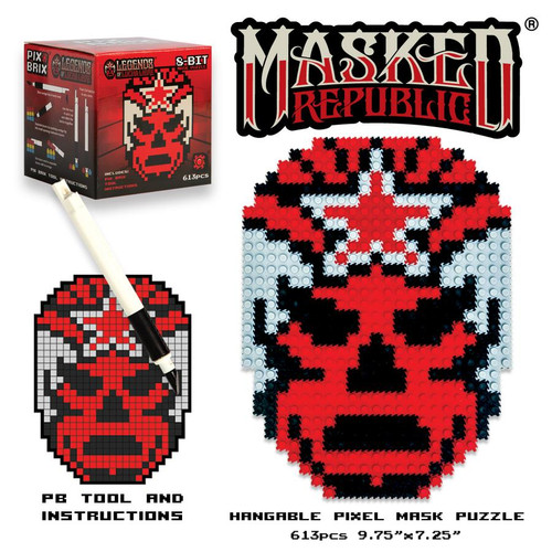 Lucha Libre Masked Republic Mask.