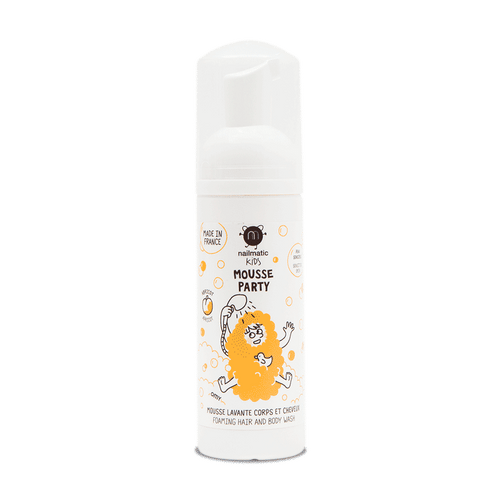 Hair & Body Wash Mousse Pasty Apricot