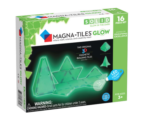 Magna-Tiles® Glow in the Dark 16pcs