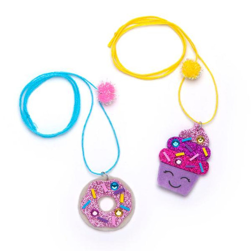 Mini craft Dessert Necklaces