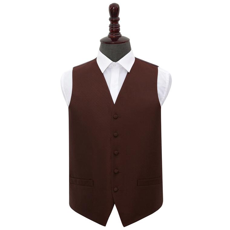 Greek Key Waistcoat - Burgundy, 50'