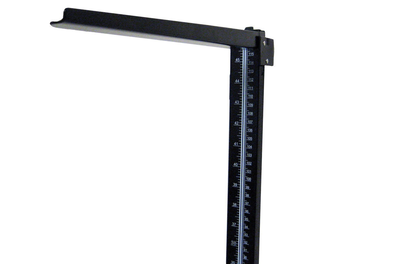 Health o meter WMROD metal height rod with anchors and screws for wall mounting