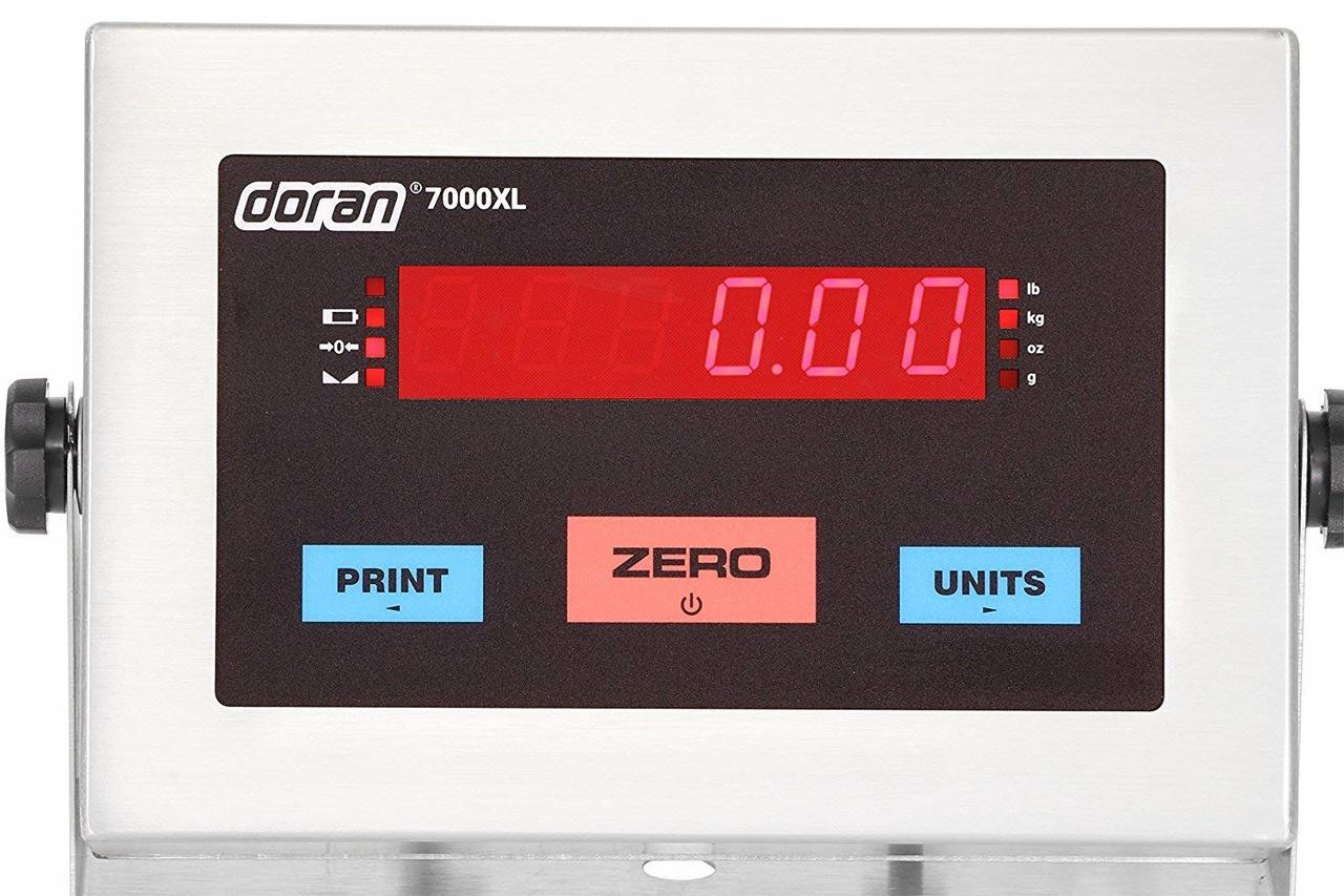 Doran 7000XL scale indicator