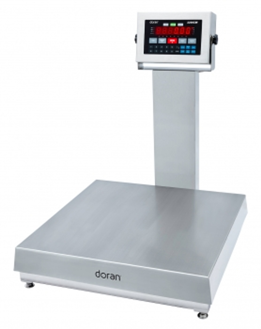 "Doran 7000XL Stainless Steel Bench Scale with 20"" column"