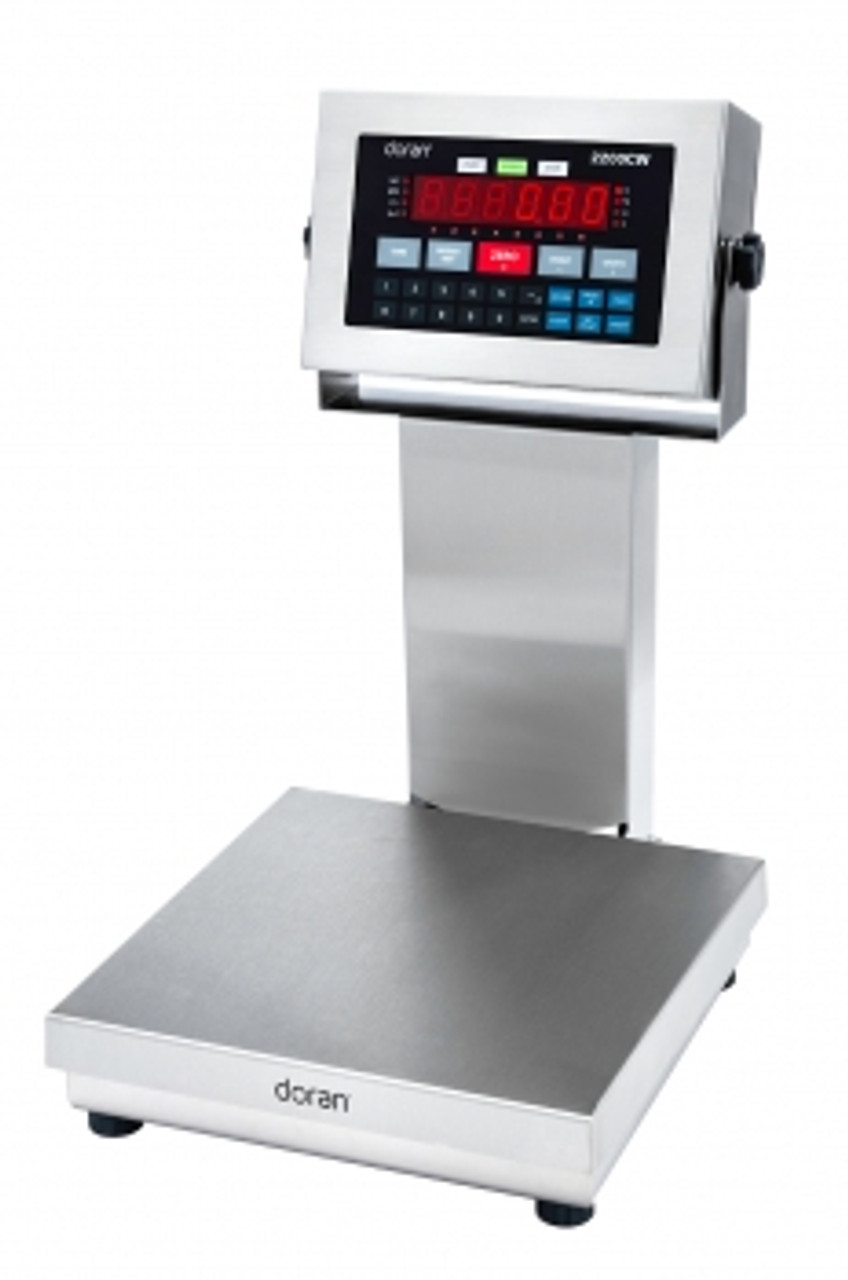 """Doran 2200CW Stainless Steel Checkweigh Scale - 14"""" column"""