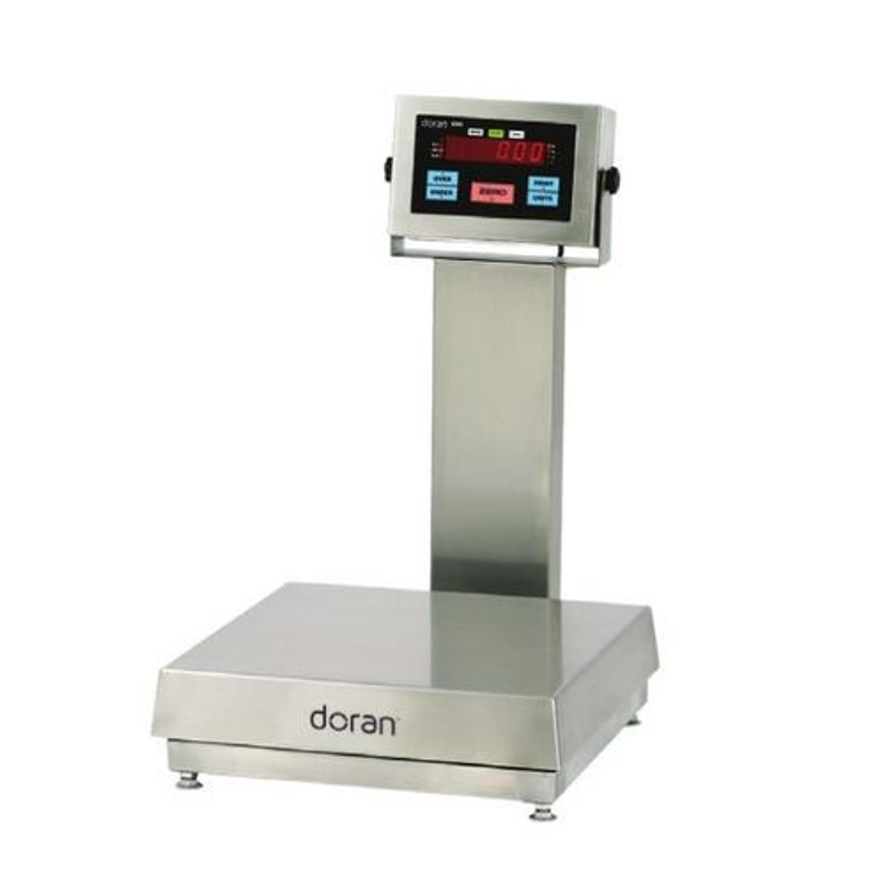 """Doran 4300 Stainless Steel Checkweigh Scale - 20"""" column"""