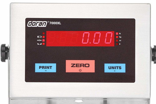 Doran 7000XL scale indicator