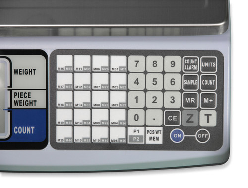 Scalemart CS20 counting scale keypad