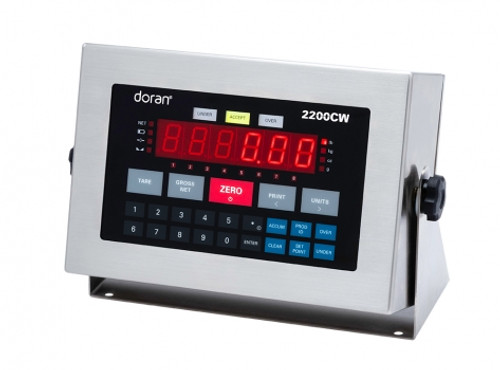 "Doran 2200CW Stainless Steel Checkweigh Scale - 14"" column"