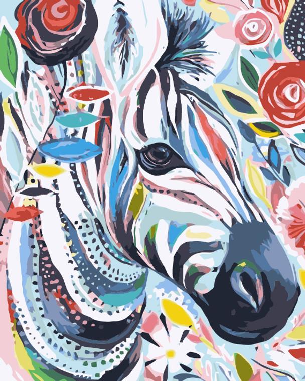 Flower Zebra