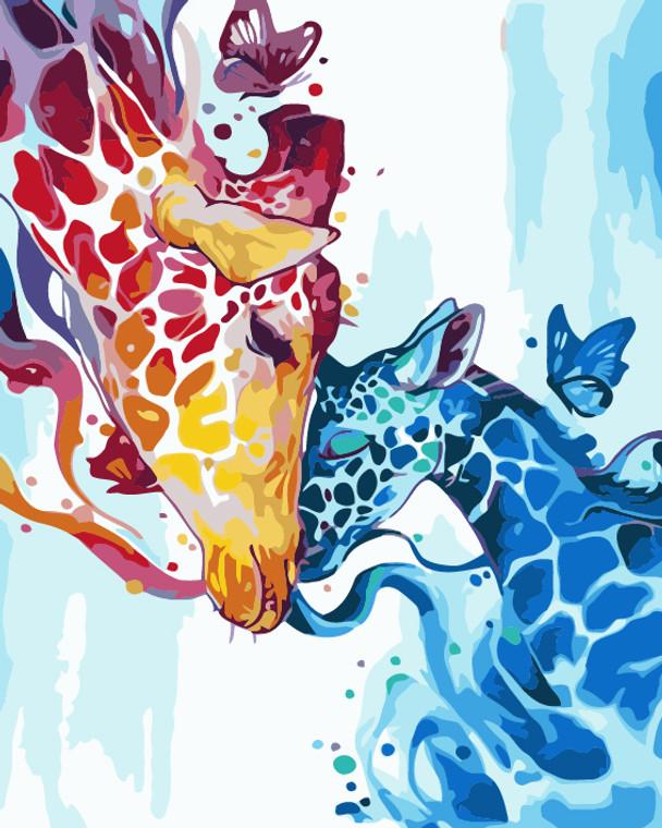 Colourful Giraffe Bonding