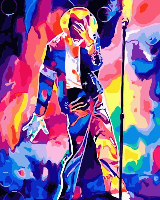 Colourful Michael Jackson