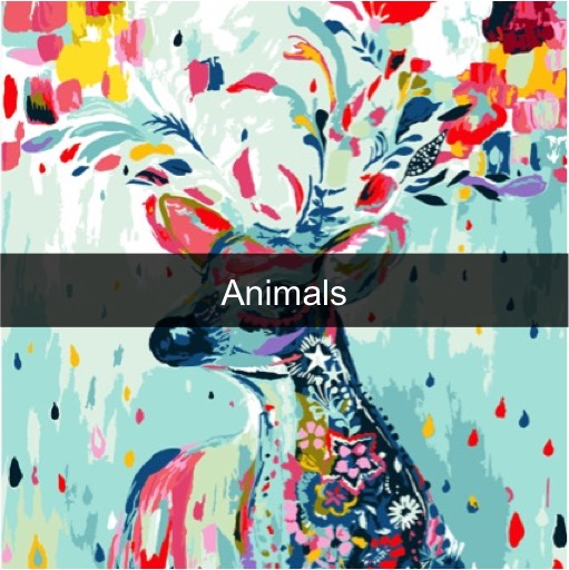 Paint by Numbers Kits - Animals