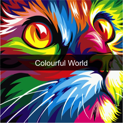 Paint by Numbers Kits - Colourful World