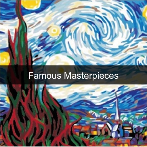 Paint by Numbers Kits - Famous Masterpiece