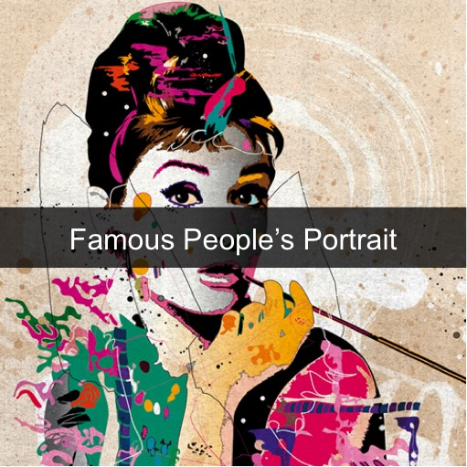 Paint by Numbers Kits - Famous People