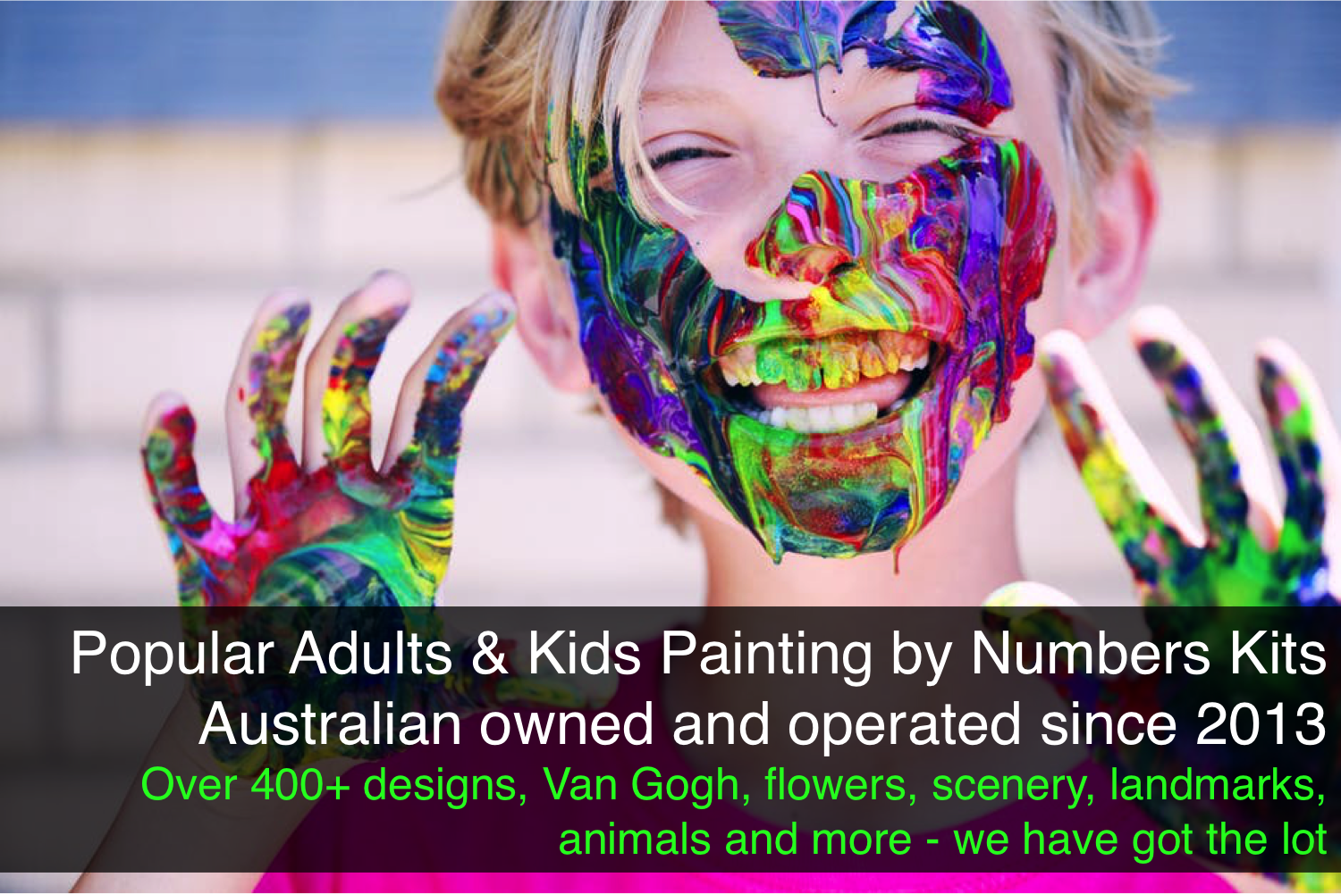 Australia Top Paint by Numbers Kits Provider