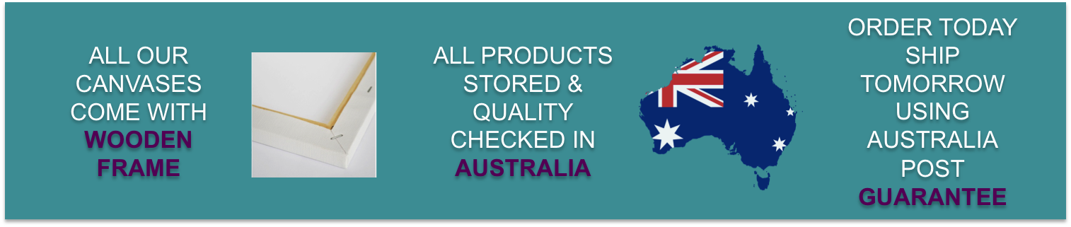 Painting by Numbers Australia Quality and Delivery Guarantee