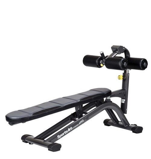 SportsArt Adjustable Crunch Bench
