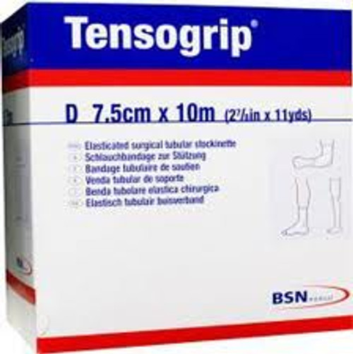 Tensogrip Tubular Support Bandage - 7.5cm x 10m - Size D