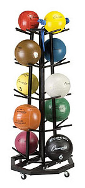 Deluxe Medicine Ball Tree