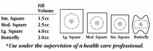 ProAdvantage Gentle Stim Iontophoresis Electrodes (10PK)