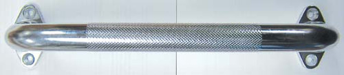 Drive Medical Chrome, Knurled Grab Bar