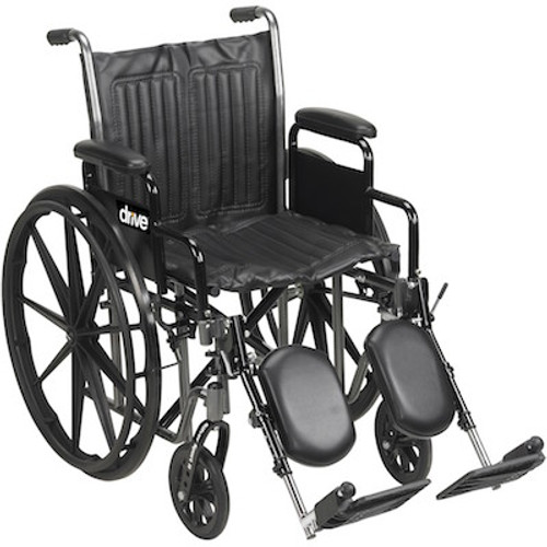 Drive Medical Silver Sport 2 Dual Axle Wheelchair