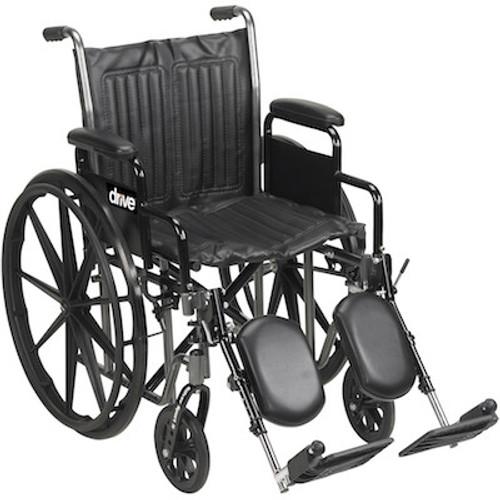 Drive Medical Silver Sport 2 Dual Axle Wheelchair