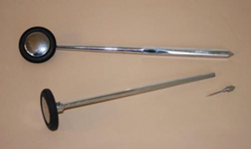 Babinski hammer, long, no-latex