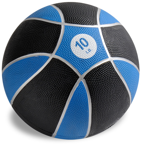 Exertools 10 pound Hard Shell Exball (Medicine Ball)